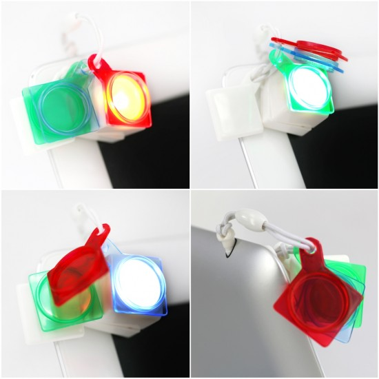 Color Flash Cube color filter selfie special effect