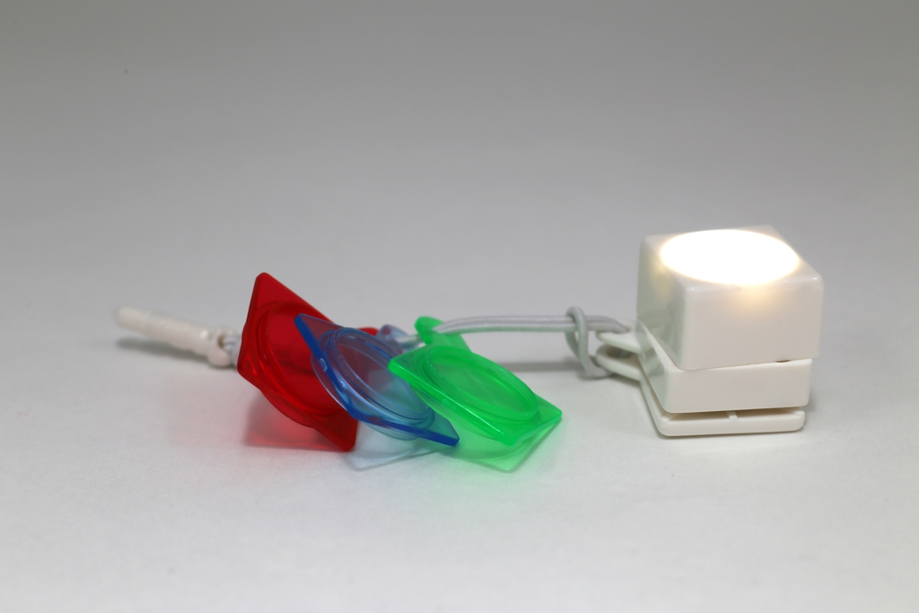 Color Flash Cube The Stick On Color Selfie Light Greenbulb