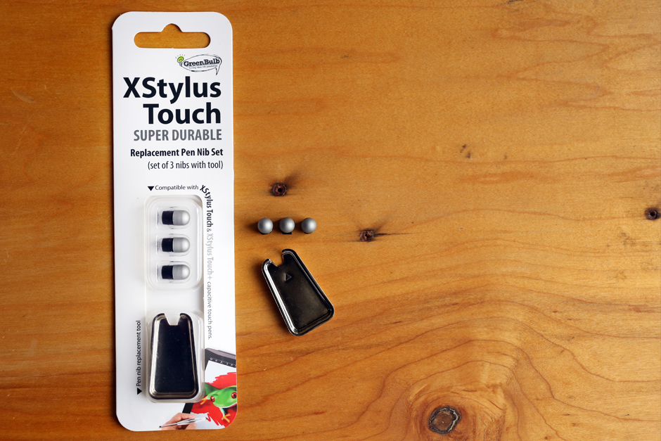 Nib replacement kit for XStylus Touch 3 nibs and tool