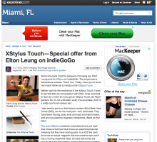 XStylus Touch in Examiner.com