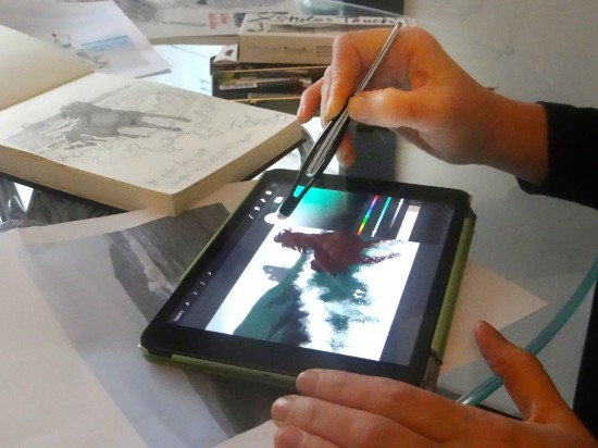 XStylus Touch ipad Touch pen + Fiona Boniwell from Boniwell GrafikArts