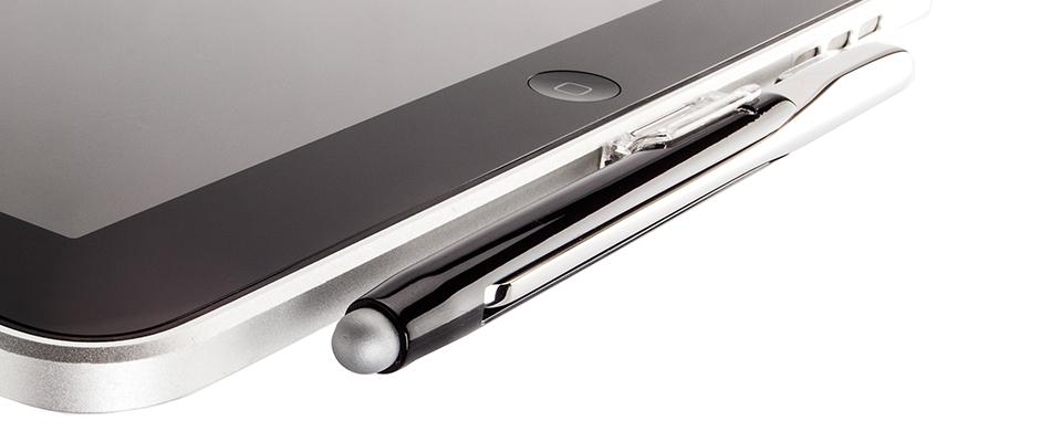 Pen holder for iPad